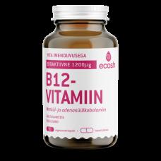 Bioaktiivne B12 vitamiin 90tk, Ecosh