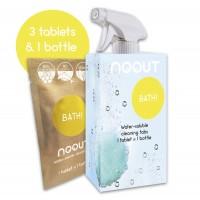 Vannitoa puhastuskomplekt(1 pudel+ 3 tabletti), NOOUT