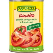 Kooritud tük. tomatid omas mahlas 400 g