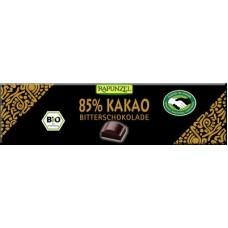 Mõrušokolaad 85% kakaod 20 g, Rapunzel