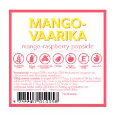 Mango-vaarika jäätis 90ml, Mahe Jäätis