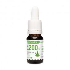 D3 vitamiin kanepiõliga (1 tilk 1200iu) 10ml Ecosh