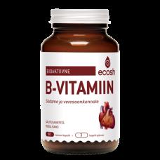 B-vitamiin(B1,2,3,5,N-vit ja Q10) 90tk, Ecosh