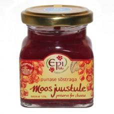 Moos juustule punase sõstraga 120g, Epi talu