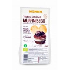 Muffinijahusegu tumeda šokolaadiga 400g, Nonna