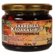 Kadakasiirup sarapuupähkliga 210 ml, Saaremaa Kadakasiirup