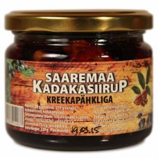 Kadakasiirup kreekapähkliga 210ml, Saaremaa Kadakasiirup