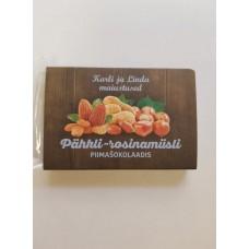 Pähkli-rosinamüsli piimašokolaadis 40g