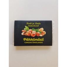 Pähklimüsli tumedas šokolaadis 40g