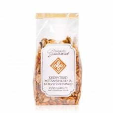 Krehvtised metsapähklid ja kõrvitsaseemned 130g, Pädaste